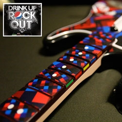 MWM Graphics customizes 50 Rock Band Guitars for the Pepsi/Harmonix Drink Up, Rock Out contest!!! Check it out up close, and the contest is pretty fun too!