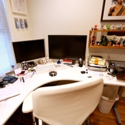 Ready for a peek into the NOTCOT office space? *please don't mind the mess!*
