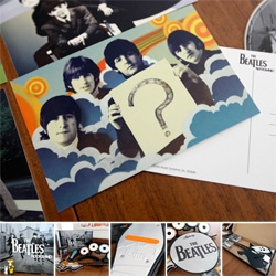 The Beatles: Rock Band UNBOXED! The hardware and goodies thrown in were so pretty ~ definitely design details worth taking a peek at!