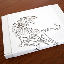 Made Of Japan (TAB Exclusive Boxed Edition) by Onitsuka Tiger ~ with gorgeous laser cut cardboard Tiger sleeve and more gorgeous packaging within...