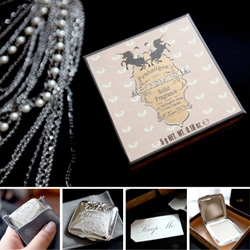 Penhaligon's Artemesia solid fragrance in the silver plated compact ~ beautiful packaging, perfectly purse/travel friendly.