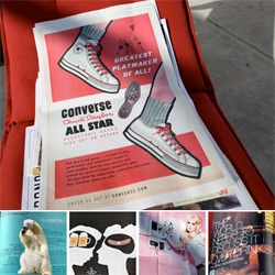 Advertising. It's a beautiful thing. Especially when picked right... and designed so awesomely. Take a peek at some of the ones that grabbed me in the stunning McSweeney's SF Panorama Newspaper!