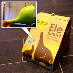 Milan impulse buy ~ Qualy Design ELE FUNNEL! Adorable packaging graphics and even cuter product! See the unboxing...