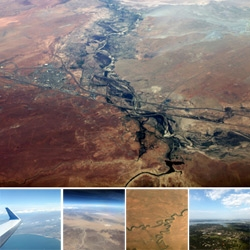 Operation Window Seat ~ this time its LAX-DFW ~ an aerial look at the southwest! With winding rivers, the grand canyon, craters, coastlines and more!