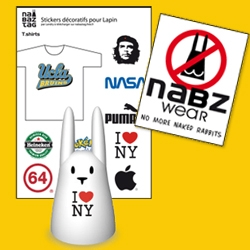 Nabzone has clothing and accessories for your Nabzatags ~ apparently they are anti naked  bunnies