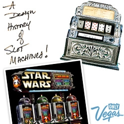 Slot Machines! A visual history from the 1800's to R2D2 ones to targeted advertising of today... amazing to see where they evolved from!