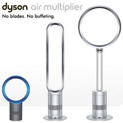 Dyson launches two new bladeless air multiplier fans ~ the Tower Fan and the Pedestal Fan!