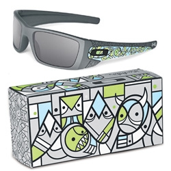 A sneak peek look at Oakley Artist Series Fuel Cell sunglasses by Don Pendleton