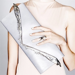 Dominic Jones Jewellery - beautiful rhinoceros beetle rings i'm lusting after… an incredible shark's jaw envelope clutch… some intense gator jaw cuffs... and more!