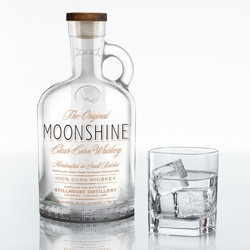 The Original Moonshine from Stillhouse launches today ~ 80 Proof, and made in the only operational Prohibition-era copper pot still in the US (in VA!)