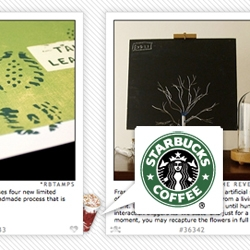 Starbucks 12 Days of Sharing ~ a fun and unique sponsorship here on NOTCOT.org ~ with fun goodies popping out from behind some of the posts!