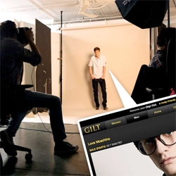A sneak peek at tomorrow's Gilt Man sale... we go behind the scenes at Gilt Groupe and see how their lightning fast photo shoots happen!