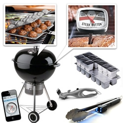 The Ultimate Gadgets for Grilling!!! We had fun rounding up some of the coolest gadgets and accessories you probably didn't even know you needed to cook out this summer.