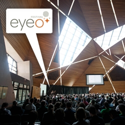 EyeO Festival is not only an inspiring event ~ but is taking place in the stunning Univ of Minnesota McNamara Alumni Center, and has beautiful graphic design as well...