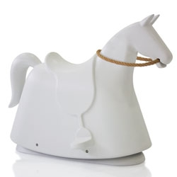 Rocky! The new rocking horse by Marc Newson in the Magis Me Too collection.