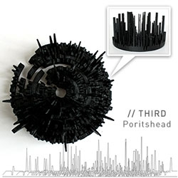 """Realitat's Microsonic Landscapes - 3D printed visualizations of their favorite albums... """"Each album's soundwave proposes a new spatial and unique journey by transforming sound into matter/space: the hidden into something visible."""""""