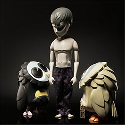 """""""Souls Gone Mad"""" Sculptures and Photographs by Mark Landwehr and Sven Waschk [Coarse] at Rotofugi Gallery  looks incredible! Especially the owls!"""