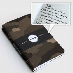 Word. Notebooks feature a unique bullet point system to keep all your to-do lists in order.