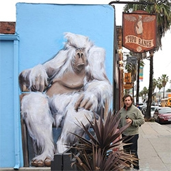 The Gorillas of Isabelle Alford-Lago have been popping up all over Venice, CA and they are magnificent!