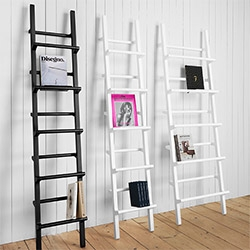 Verso Shelf by Mikko Halonen for One Nordic Furniture Company - these beautiful ladder-esque shelves are perfect for displaying books either spine out or cover first with the addition of shelves... (our NY Design Week Favorite so far!)