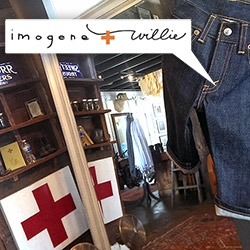 Imogene + Willie, a close up look into the adorable world of the denim masters in an old gas station in Nashville, TN. From denim to home goods, everything is perfectly curated in this gorgeous shop!