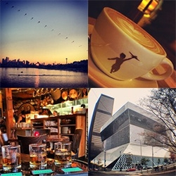 Inspiration: SEATTLE! A weekend exploring Seattle. Delicious food, incredible coffee, endless apples, so many craft brews, a peek in the Boeing factory, a look inside the Rem Koolhaas Library, timelapse vids, and more inspiration.
