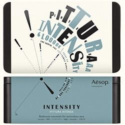 Aesop always has fun holiday gift set packaging ~ this year it's retro-typographically themed!