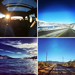 ROADTRIP ADVENTURE! From LA to Park City, UT ~ we drove from the beach, across the city, offroading through the desert, up into the mountains to find the snow and back ~ truly testing the Audi 2014 Q7 TDI.