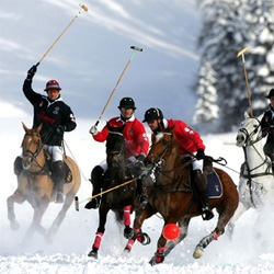 24th Cartier Polo World Cup on Snow will take place from 24 to 27 January 2008 up in St Moritz!