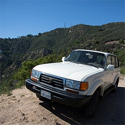 NOTlabs Project Car: a 1996 Toyota Land Cruiser FZJ80! A look at the starting point for our latest design adventure - everything from the exterior down to the details like the manual and even a Toyota Screwdriver.