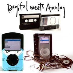 Digital truly meets analog in these reused record and cassette tape ipod classic and nano cases ~ and naturally no two are alike. 45 iPod Cases