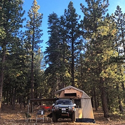 NOTFZJ80 Project: Test Trip, Big Bear! First part is testing out camping. From popping the rooftop tent, annex, and awning, to cooking a few meals and curling up under the stars we explore dispersed and yellow post camping.