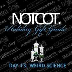 "Gift Guide Day 13 (i'm back on track!) ~ is hand picked by our Shade Elaine to find you what we're calling ""Weird Science"" ~ really its a continuation of Gorgeously Goth Day 16!"