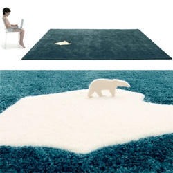 Awesome Global Warming rug by Nel for Nani Marquina