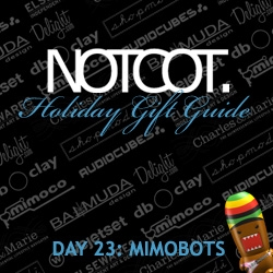 Gift Guide Day 23! I bet you haven't seen this many awesome mimobots on one page before! This was too fun to make! And those new star wars series two ones are so cute.