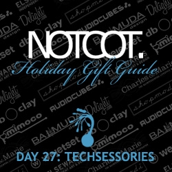 Gift Guide Day 27 and counting down... for this first sunday, here are some techsessories, because there's no excuse for fugly tech.