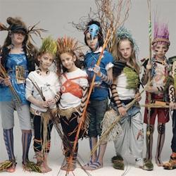 "Oliviero Toscani - amazing set of photos showing off these kids as ""Eco-Warriors"""