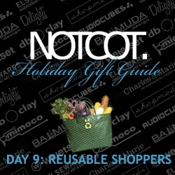 Gift Guide Day 9 ~ Reusable Shopping bags, after having researched SO many, here are our favorites and unexpected pics, as well as some woody accessories to go with!