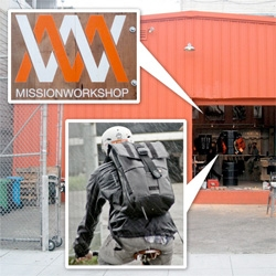 Mission Workshop! A peek inside the awesome bike messenger/backpack and accessories store in San Francisco from the original founders of chrome!