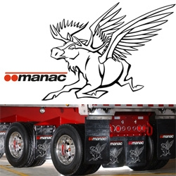 Another mythological creature of north america ~ manac trucking's Flying Moose! Which has a great legend behind its origin!