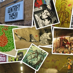 RUGenius made it over to the Banksy Cans Festival where over 600 stencil artists took on a tunnel below Waterloo... and luckily for us she took hundreds of pics to share with us... mind blowing stuff.