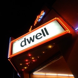 FORDBRADY throws Dwell Magazine a welcome  to Los Angeles cocktail party ~ for an incredible transformation, see how this 1926 Chinatown Theater  has become a modern loft/gallery space.
