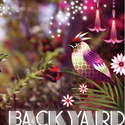 Sneak Preview of BACKYARD: Pancho Tolchinsky and Catalina Estrada ~ Cati's mesmerizingly beautiful digital illustrations layered on the backyard photography of Pancho are just magical!