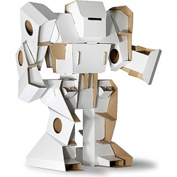 Build Your Cardboard Robot by Nubie Modern Kids Boutique.