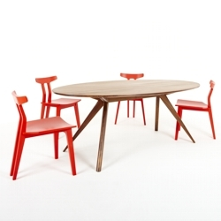 The new Oskar Dining Table by Dare Studio