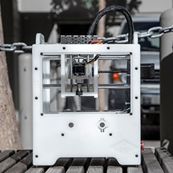 The Othermill by Other Machine Co. is a desktop CNC mill for creating your own circuit boards and small objects. Fabricate in wood, plastics, wax, and some metals!