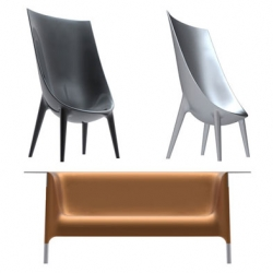 Collaboration between Philippe Starck & Eugeni Quitllet, the Out/ In furniture is a collection interpreting the desire for great continuity between the home and the world, between inside and outside with advanced industrial production.
