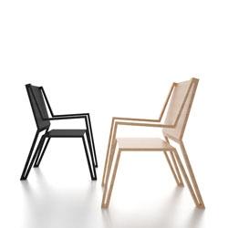 Outline chair from Michael Samoriz.