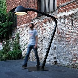 Dutch designer Jacco Maris has created the Outsider Lamp collection.