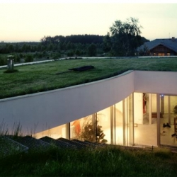 The Outrial  House in Ksiazenice, Poland.  Designed by architectural firm KWK Promes